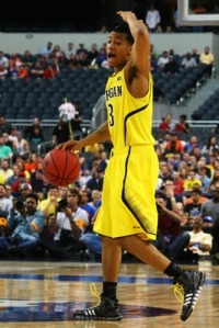 Trey Burke will have a tough test ahead against Syracuse's guards.